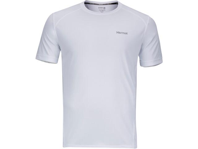 Marmot Windridge Lyhythihainen paita Miehet, white